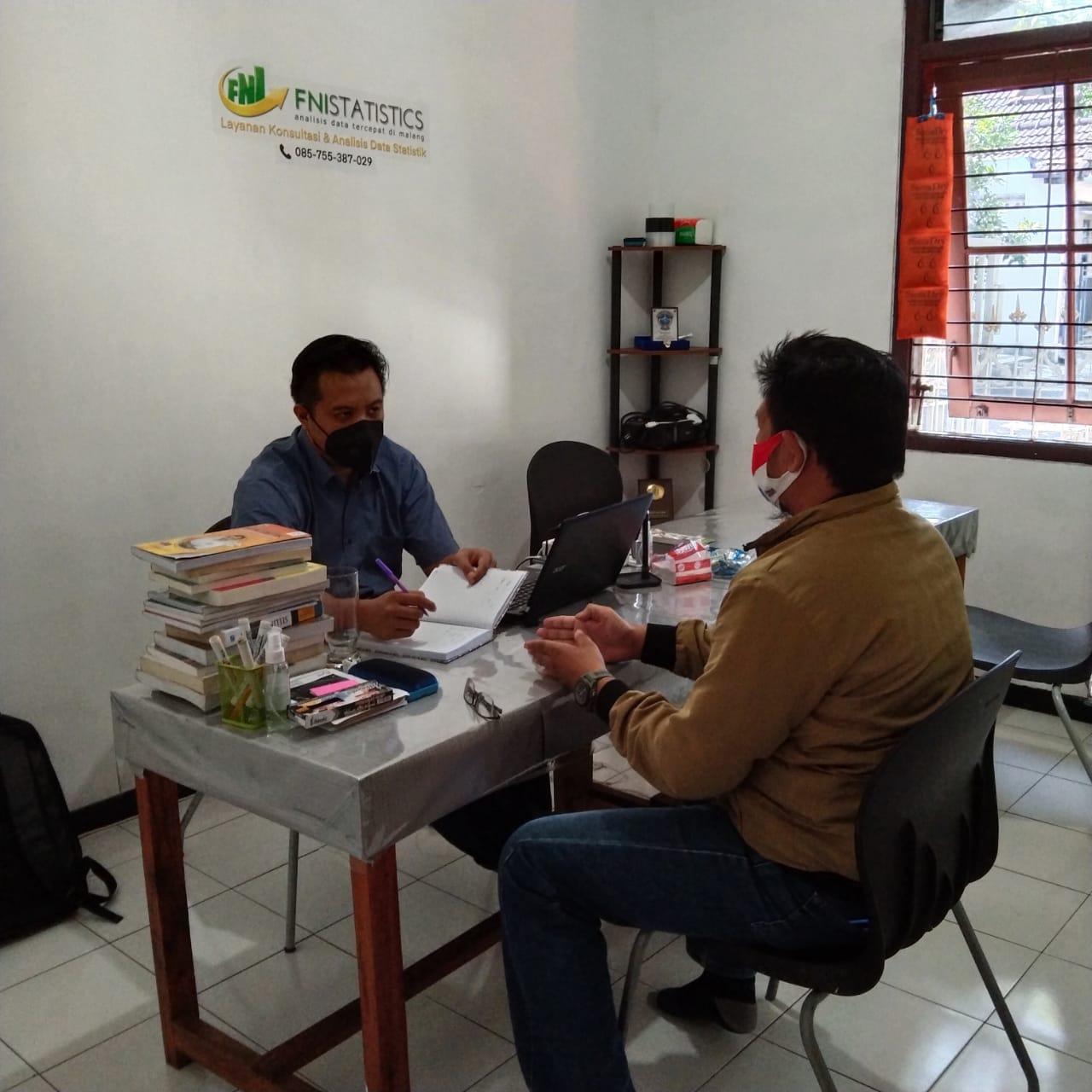 Klien S2 teknik pengairan Konsul pemgerjaan tesis